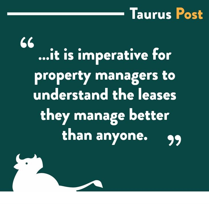The Importance of the Lease